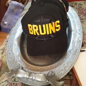 Bruins new era fitted cap